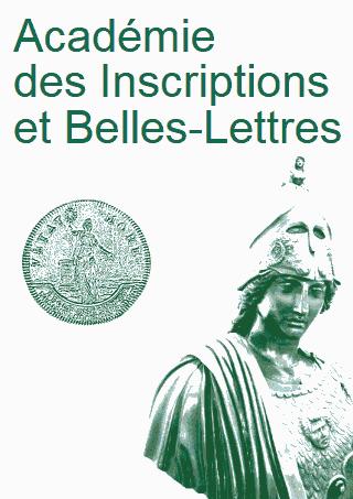 Publications De L Academie Des Inscriptions Et Belles Lettres Persee