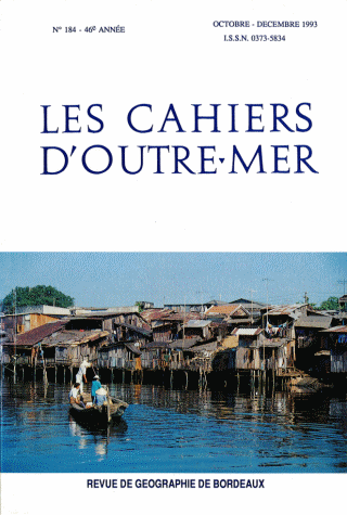 LES CAHIERS D'OUTRE-MER