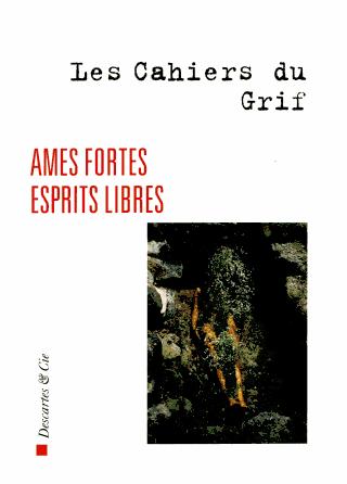 Les Cahiers du GRIF 1973-1982