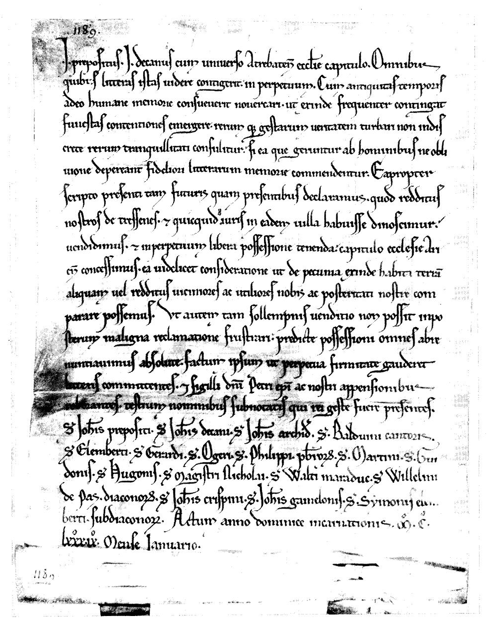 Les chartes des évêques d'Arras. 1093-1203 - Benoît-Michel Tock