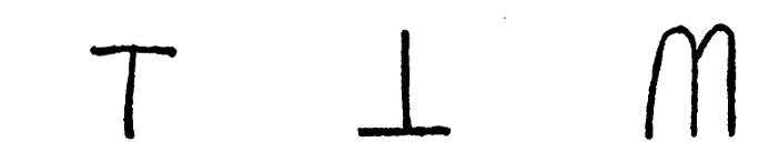 Lettres latines - rencontres avec des formes remarquables