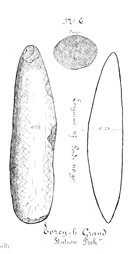 Fuseaux ou ciseaux coupe ovo de recueillis dans l 39 arrondissement de dieppe pers e - Un ciseau ou des ciseaux ...
