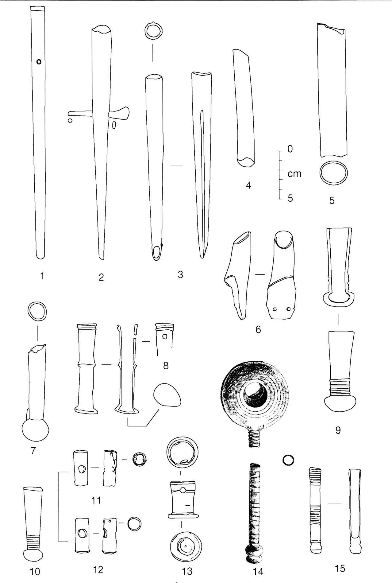 Et si les pr tendus talons de lance de type launacien for Arc et types