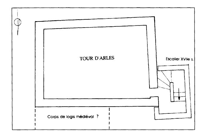 La tour d 39 arles de caussade tarn et garonne tude for Plan caussade