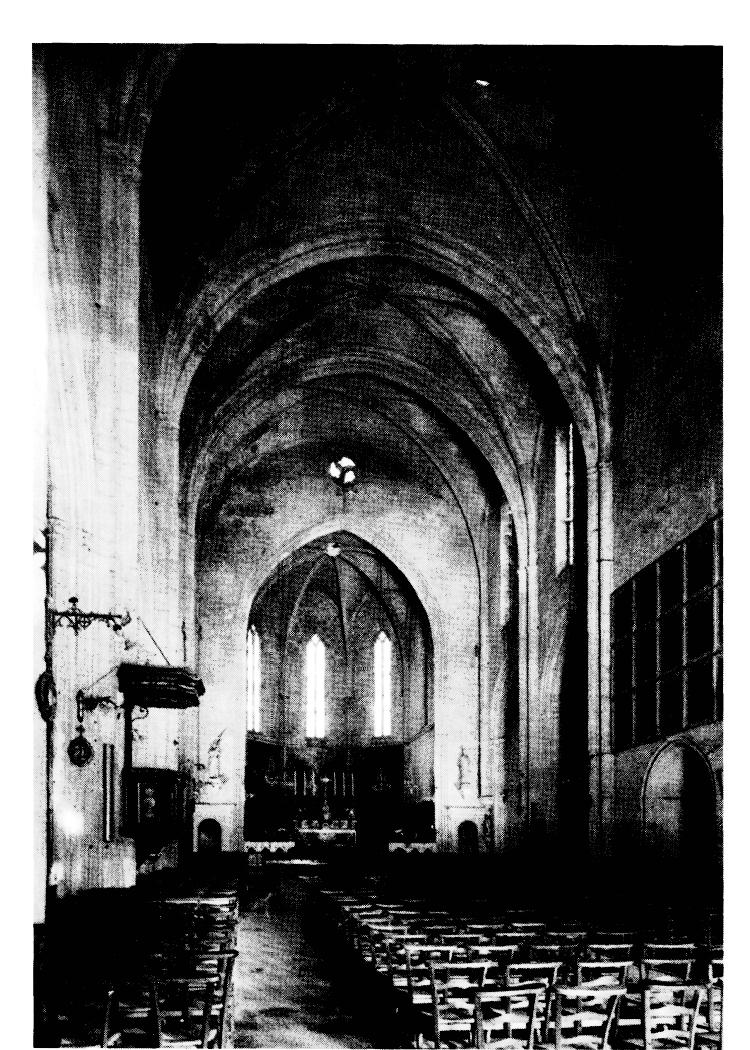 La reconstruction de la coll giale saint laurent de salon - Eglise saint laurent salon de provence ...