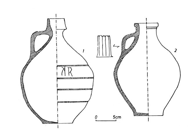 La Cramique Gallo Romaine Recueillie Ppiron Charente