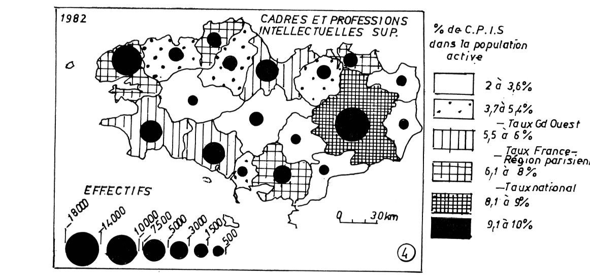 La population active de la bretagne vingt ans d 39 volution for Densite du verre a vitre