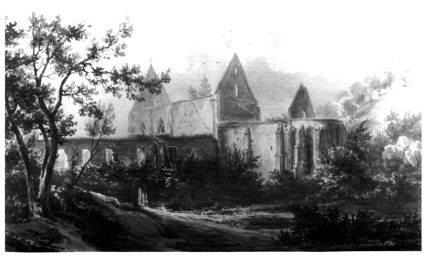 Etude de l 39 volution du b timent principal de l 39 abbaye for Etude de batiment