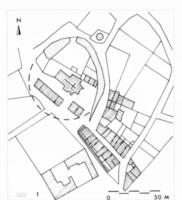 Fig. 24 Airoux, d'après le cadastre du XIXe s