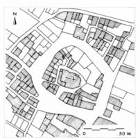 Fig. 25 Carlipa, d'après le cadastre du XIXe s. (D. Baudreu del.)