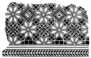 Trois mosa ques in dites de vaison la romaine et de saint paul trois ch teaux - Ciment romain composition ...
