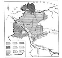 Fig. 1. Les pays du Marmandais