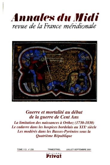Les modérés dans les Basses-Pyrénées pendant la Quatrième République ... 5fc2fa81287