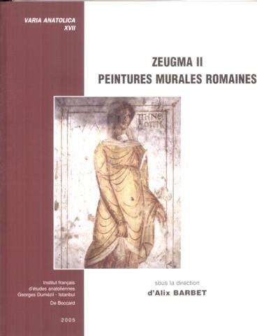 Zeugma II. Peintures murales romaines - Persée 9faf320c2a0