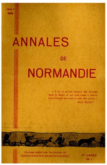 Période ducale   Annales de Normandie