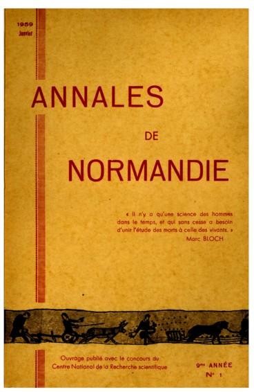 Histoire sociale   Annales de Normandie