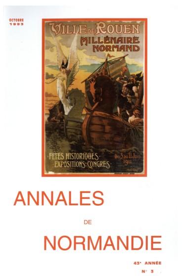 Quelle idée les Normands des XIe et XIIe siècles se faisaient-ils de leur pays et deux-mêmes