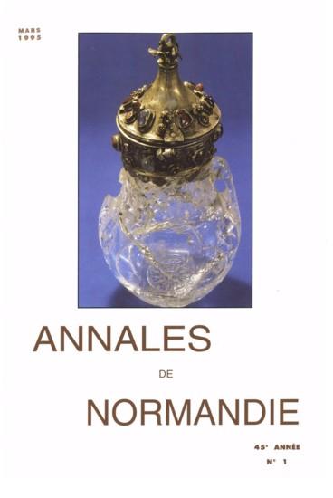 Livres reçus    Annales de Normandie