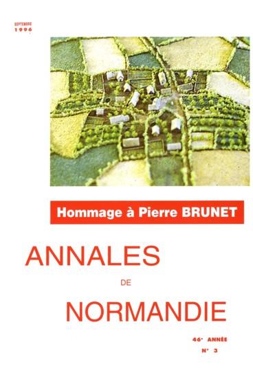 Préface   Annales de Normandie