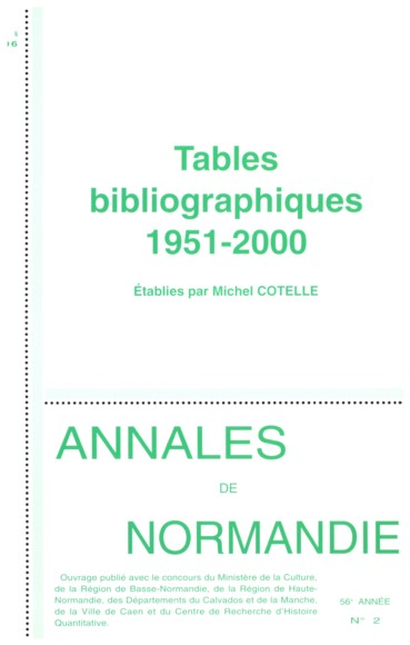 Index des personnes   Annales de Normandie