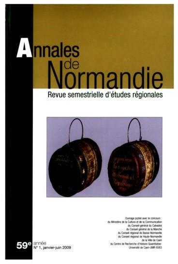 La Révolution en Normandie. Nouvelles approches