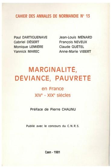 Délinquance et délinquantes dans la région de Caen. XIXe-XXe siècles