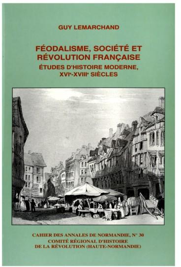 Préface   Cahier des Annales de Normandie