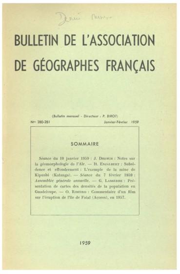 Présentation De Cartes Des Densités De La Population En Guadeloupe