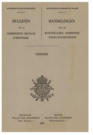 La naissance de l'État belge à travers une correspondance
