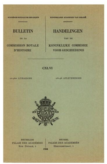 Documents Relatifs A La Gestion Des Finances De Philippe Le Hardi Duc De Bourgogne Et Comte De Flandre 1384 1404 Persee