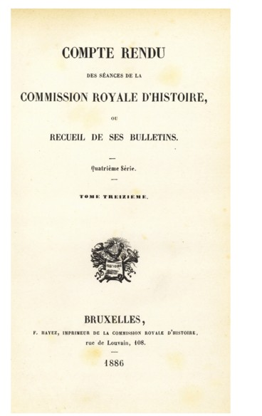 Campagne du prince dOrange en France en 1569. Documents inédits