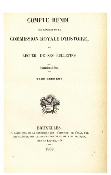 Séance du 7 janvier 1889