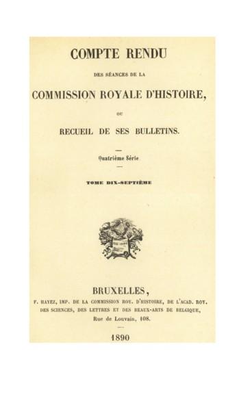 I Renseignements Sur Les Archives De La Haute Cour De Limbourg Persee