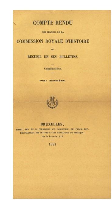 Inventaire Des Archives De Labbaye De Stavelot Malmedy Persée