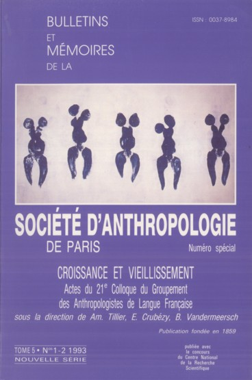 21ème Colloque des Anthropologistes de langue française. Programme des sessions
