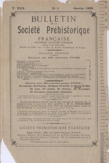 Conseil Dadministration Pour Lannée 1933 Persée