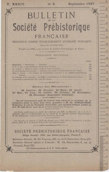 La Station tardenoisienne de Chery-Chartreuve Aisne