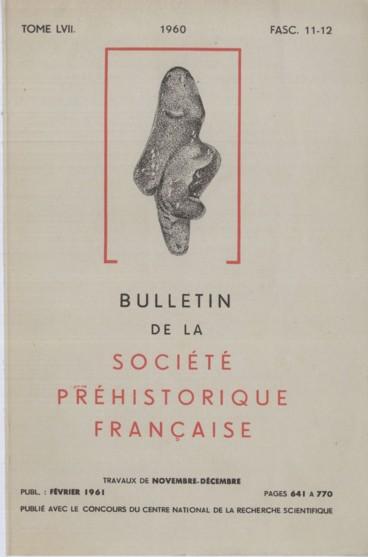 Table des matières    Bulletin de la Société préhistorique de France