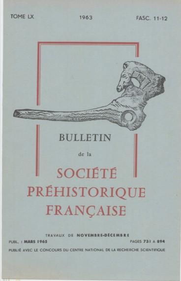 Contribution à létude du Paléolithique des « Hautes-Bruyères » Villejuif