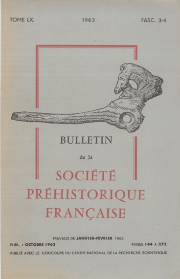 Bibliographie    Bulletin de la Société préhistorique de France