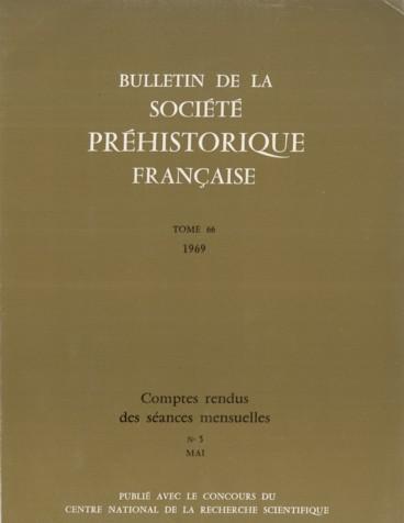 Note sur labri ďAuberoche ; Commune du Change Dordogne