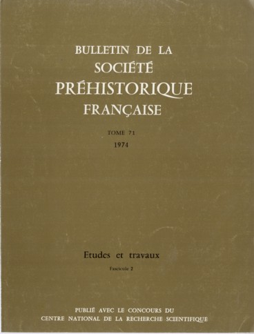 Lindustrie moustérienne de labri Pié-Lombard Tourettes-sur-Loup, Alpes-Maritimes