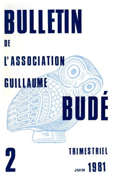 La vie de l Association Guillaume Budé (Section d adultes) - Persée d34020d9a3c1