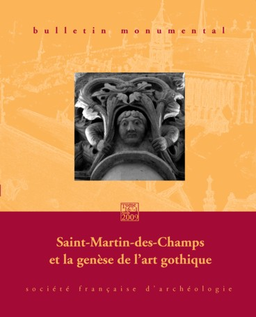 Le chevet de saint martin des champs paris incunable de for Art gothique