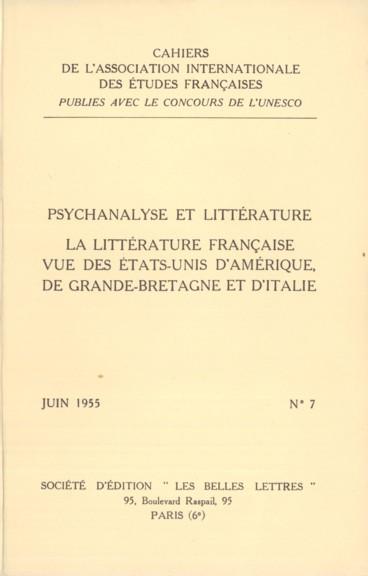 La littérature française contemporaine devant lopinion américaine