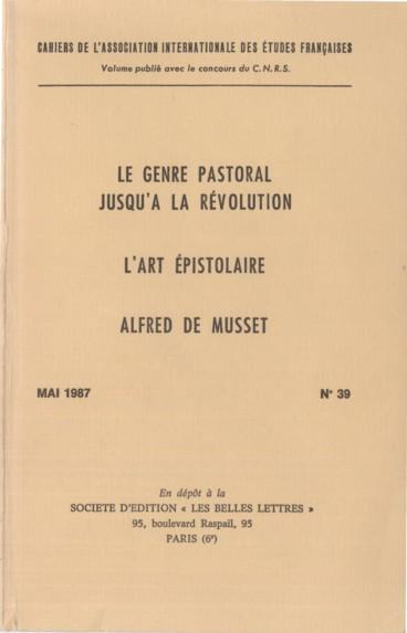 Jean Jacques Rousseau Amoureux Par Lettres Persée