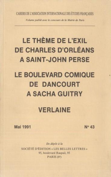 La Poétique De Lexil Chez Victor Hugo Persée