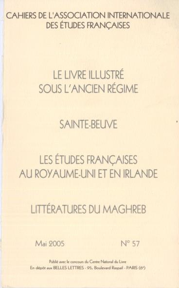 Frere Il Faut Me Louer Hugo Sainte Beuve Et La Critique Persee