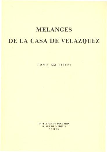 Moriques anciens et nouveaux morisques dans le district inquisitorial de Cuenca (première partie)
