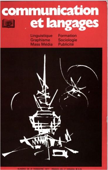 « La graphique et le traitement graphique de linformation », Jacques Bertin